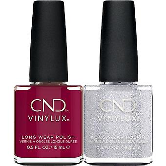 CND vinylux Weekly Nail Polish Duo Set - How Merlot & After Hours (2 X 15ml)