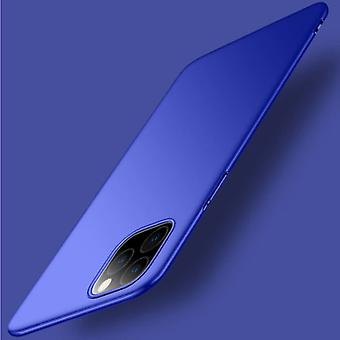 USLION iPhone 12 Pro Ultra Thin Case - Harde Matte Cover Blauw