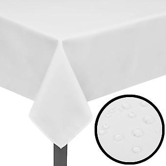 5 pöytäliinaa Valkoinen 190 x 130 cm