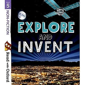 Read with Oxford: Stage 5:� Non-fiction: Explore and Invent