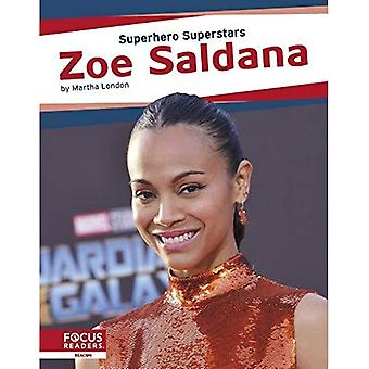 Superhero Superstars: Zoe Saldana
