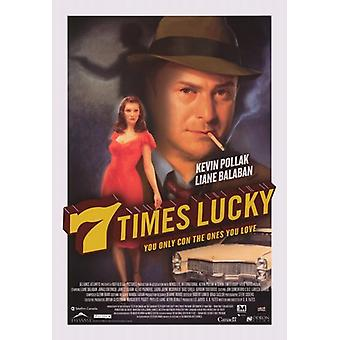 Siedem razy szczęście Film Plakat (11 x 17)
