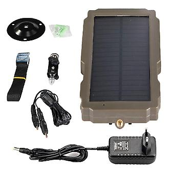Outdoor Solar Panel, Power Supply Charger Battery, Trail Camera