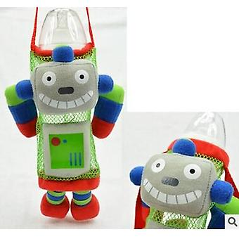 Children Water Bottle Handle Bags Cartoon Feeder Lagging Baby Bottle Huggers
