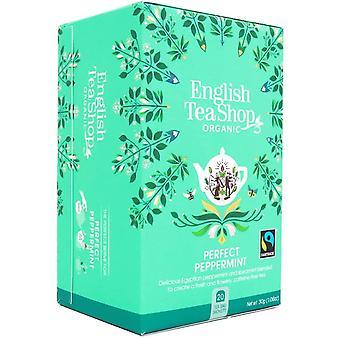 Engelse thee Organic & Fairtrade Peppermint 30g (20s) x6