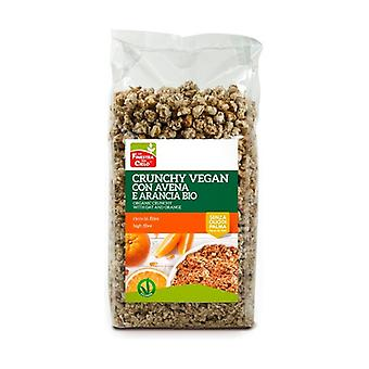 CRUNCHY WITH OATS AND VEGAN ARANCIA 375 g