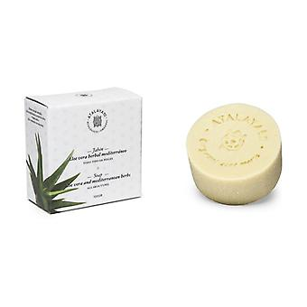 Mediterranean Herbal Aloe Vera Soap 100 g