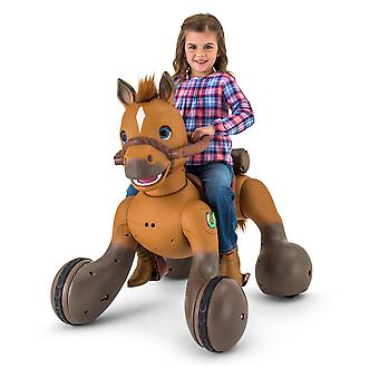 Kid Trax 12-Volt Rideamals Scout Pony Interactive Ride-On Toy