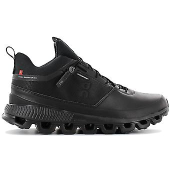 ON Running Cloud Hi Waterproof - Men's Outdoor Shoes Black 28.99674 Sneakers Sports Shoes