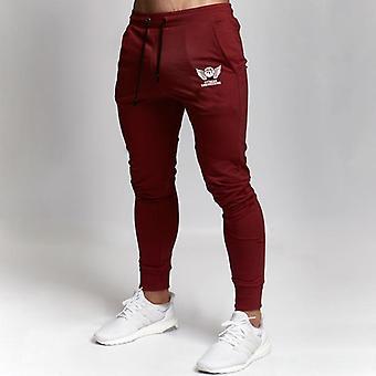 Thin Style Pantalon Homme Jogger, Fitness, Bodybuilding Sweatpants Trousers