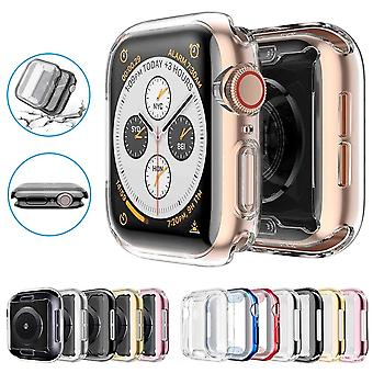 Slim Watch 360 Cover Apple Watch Case 6 Soft Clear Tpu Screen Protector