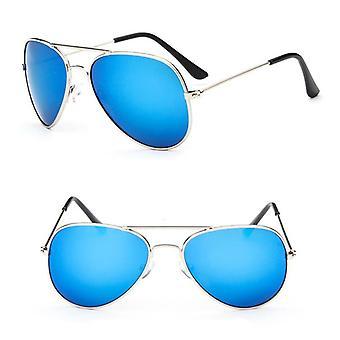 Klasické zrcadlové brýle, cestovní brýle s kovovým rámem