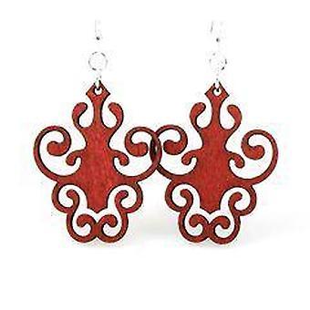 Iron Lamp Design Earrings