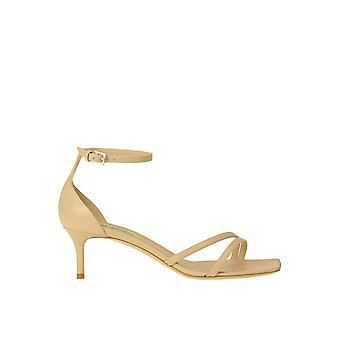 Ninalilou Ezgl449005 Women's Beige Leather Sandals