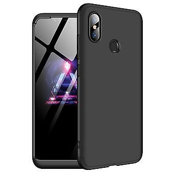 360 Grad Ganzkörpertasche für Xiaomi Mi 8 SE - schwarz