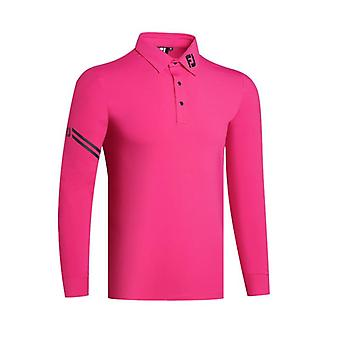Heren's Golf Long Sleeve Shirt