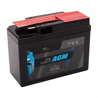 intAct YTR4A-BS Maintenance Free AGM Bike-Power Battery