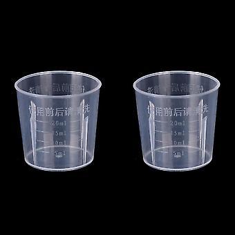 Plastic Graduated Measuring Cup For Baking Beaker Liquid Measure Jug Cup