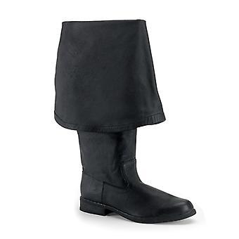 Funtasma Ενδύματα & Αξεσουάρ > Κοστούμια & Αξεσουάρ > Μπότες Κοστουμιών > Mens MAVERICK-2045 Δέρμα Blk (P)