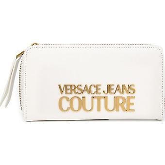 Versace Farkut Couture suuri vetoketju logo kukkaron ympärillä
