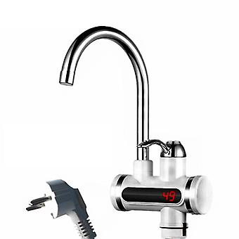 Tankless Water Heater Tap Element, Kitchen Instant Electric Faucet, Hot