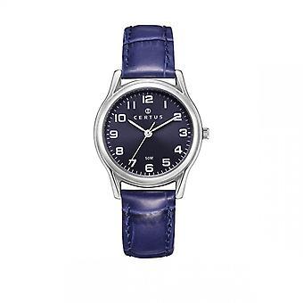 CerTus 644376 - reloj acero azul mujer
