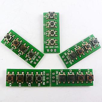 Ad Keypad Port Controll 4 Pulsanti Matrix Keyboard Development Module