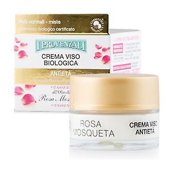 Organic Pink Anti-Aging Face Cream 50 ml of cream