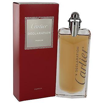 Declaration Eau De Parfum Spray By Cartier 3.3 oz Eau De Parfum Spray