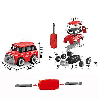 Children's detachable DIY bus toy