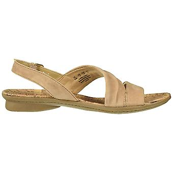 Naturalizador Mujer's Zapatos Wyn Ante Open Toe Casual Slingback Sandalias