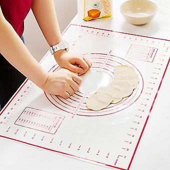 Non-stick Silicone Baking Mat, Pizza Dough Maker Pad