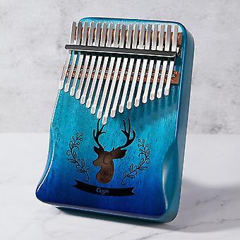 17 键圆边集成设计拇指钢琴乐器机