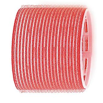 Sibel Red Velcro Roller - 70mm