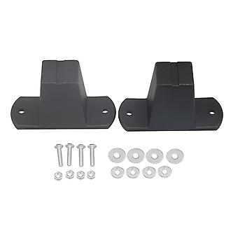 2 Pieces Luggage Stud Feet fits for Luggage Suitcases Parts Black