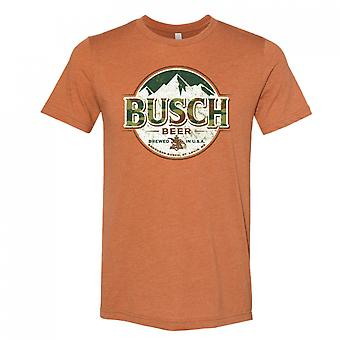 Busch Øl Camo Logo Hunter Oransje T-skjorte