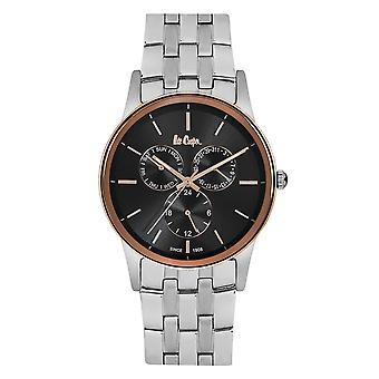 Lee Cooper Men's Black Sundial Watch - LC06498.550