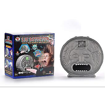 Electric shock and bite finger with lie detector Party games light music ancient Roman polygraph Truth Or Dare Game Family Party Games