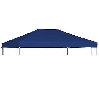 vidaXL Pavillondach 310 g/m² 4x3 m Blau