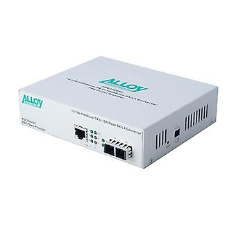 Alloy Poe Pse Gigabit Ethernet Media Converter 550M