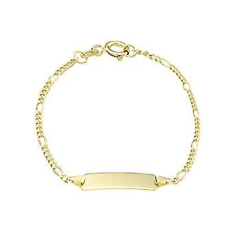 Amor - Unisex rannekoru kultaa 375, kaiverrus