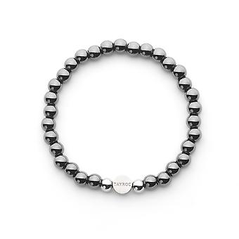 Tayroc hematite semi-precious stone bracelet