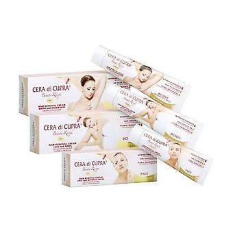 Wax Cupra Armpit and Bikini Depilatory Cream 100 ml of cream of 100ml