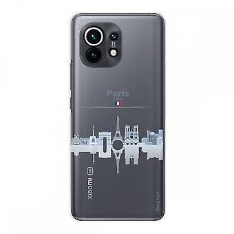 Hülle für Xiaomi Mi 11 Weich Silikon 1 Mm, Sehenswürdigkeiten De Paris