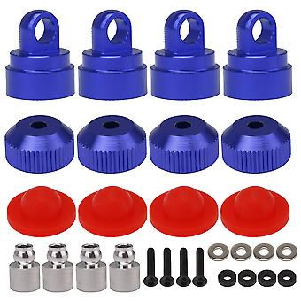 4 Pcs Navy Blue 3767A 3767X RC Shock Cap Kits Replacement for Traxxas