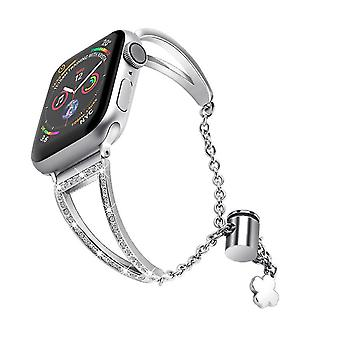 38/40Mm silver stainless steel strap for apple watch 38/40mm,42/44mm az22265
