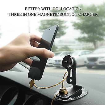 Hoco U19 Three In One Charging Data Line Separated Magnetic Attraction Line