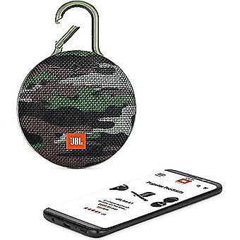 Jbl Clip3 waterdichte draagbare Bluetooth-luidspreker (GROEN)
