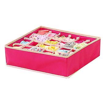 4 in 1 scatole di stoccaggio pieghevoli per l'organizzatore di biancheria intima scatole per calzini sciarpe