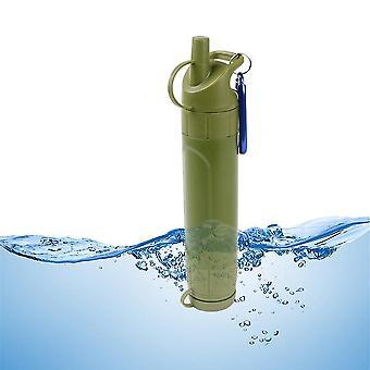 Outdoor draagbare waterfilterreiniger nood survival tool met hangende haak